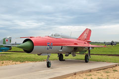 MiG-21 obraz royalty free