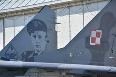 MiG-29 immagini stock