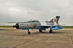MiG-21 Obraz Stock