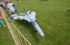 Mig-23 royaltyfria foton