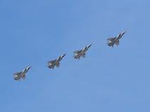 MiG-31 aircraft Royalty Free Stock Photography