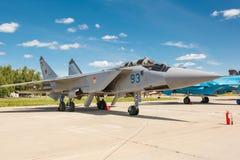 MiG-31 BM jest naddźwiękowym interceptor samolotem Obraz Stock