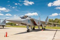 MiG-31 BM jest naddźwiękowym interceptor samolotem fotografia stock