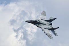 MiG-29 eslovaco Imagenes de archivo