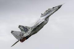 MiG-29 eslovaco en Leeuwarden Foto de archivo libre de regalías