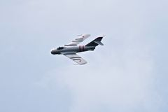 MIG 17F Military Airshow Demonstration Stock Photography