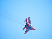 Mig-29 fighter Royalty Free Stock Photo