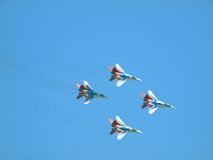 Mig-29 fighter Stock Images