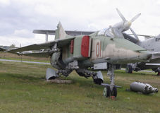 MiG-27- Fighter-bomber (1973) photographie stock