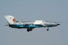 MiG-21 fighter jet Royalty Free Stock Photos