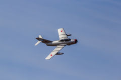 MiG-15 Fighter Jet Royalty Free Stock Photo