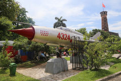 Mig 21 fighter jet stock photography
