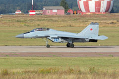 The MiG-35 fighter royalty free stock images