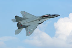 The MiG-35 fighter stock image