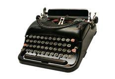 mig gammal skrivmaskin Arkivfoton