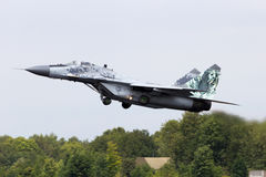 MiG-29 Royalty Free Stock Photography