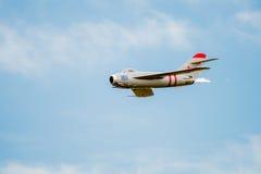 Mig-17 Jet With After Burner Imagens de Stock Royalty Free