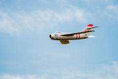 Mig-17 Jet With After Burner Royalty Free Stock Images