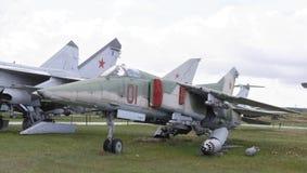 MiG--27-Kämpe-bombplan (1973) Royaltyfri Foto