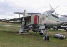 MiG--27-Kämpe-bombplan (1973) Arkivbild
