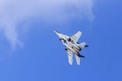 Mig-Kampfflugzeug Stockbild