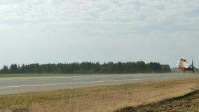 MiG-29 lądowanie na autostradzie zdjęcie wideo