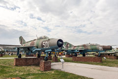 MIG 21 M Fishbed J Jet Fighter Royalty Free Stock Image