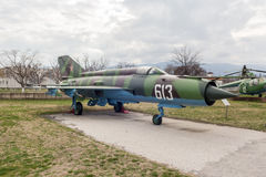 MIG 21 M Fishbed J Jet Fighter Stock Photography
