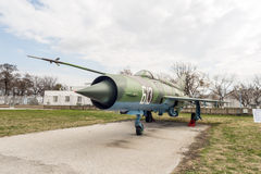 MIG 21 M Fishbed J Jet Fighter Royalty Free Stock Photography