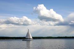 mig M-segling Arkivfoton