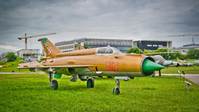 MiG-21MF Royalty Free Stock Photo