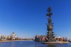 mig monument moscow peter till Royaltyfri Bild