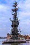 mig monument moscow peter till Arkivbilder
