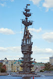 mig monument moscow peter till Royaltyfri Fotografi