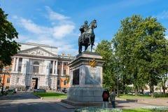 mig monument peter till Royaltyfria Foton