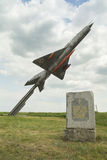 MiG-21 Monument Royalty Free Stock Photography