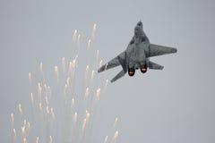 MiG-29 myśliwa racy Obraz Stock