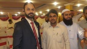 Mig och min höga muhammad Anwar Royaltyfria Foton