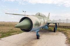 MIG 21 PF Fishbed D Jet Fighter Photo libre de droits