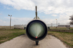 MIG 21 PF Fishbed D Jet Fighter Royalty Free Stock Photography