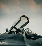 MiG-Pilot lizenzfreie stockfotos