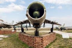 MIG 19 PM ramkarza b myśliwiec odrzutowy Fotografia Stock
