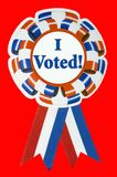 mig röstat band Arkivbild