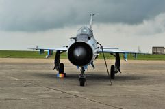 MiG-21 Royalty Free Stock Image