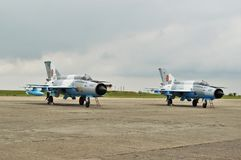MiG-21 Royalty Free Stock Images