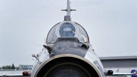 MiG-21 roumain Lancer Photographie stock
