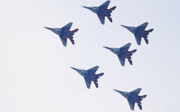 MiG-29 Russe Swifts Stockfotos