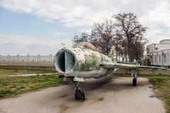 MIG 19S ramkarza myśliwiec odrzutowy Obraz Stock