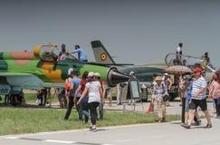 MIG 21 samolot Obraz Stock