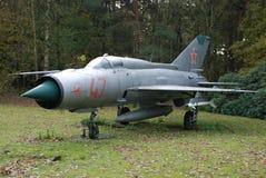 Mig-21 Soesterberg Obrazy Royalty Free